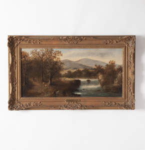 Roberto Marshall (1849-1926) Painting
