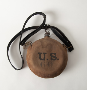 Indian Wars Canteen on Original Leather Sling