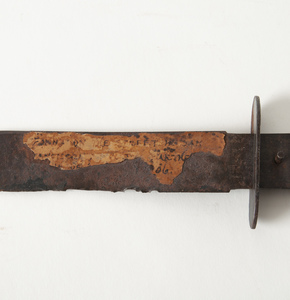Relic Bowie Knife from San Francisco