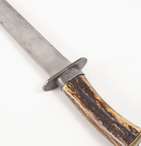 Stag Gripped Long Bowie Knife