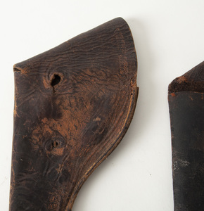 Two Civil War Era Holsters