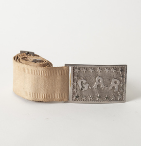 G.A.R. Belt and Belt Buckle