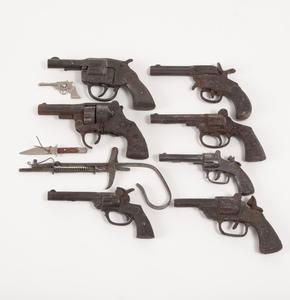 Assorted Cast Iron Cap Guns