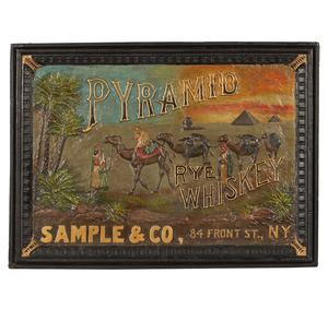 Pyramid Rye Whiskey Advertisement