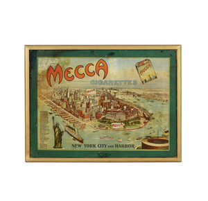 Mecca Cigarettes New York City and Harbor  Advertisement