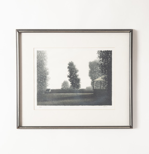 Signed and Numbered Robert Kipniss Lithograph
