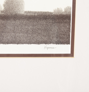 Signed Robert Kipniss Lithograph