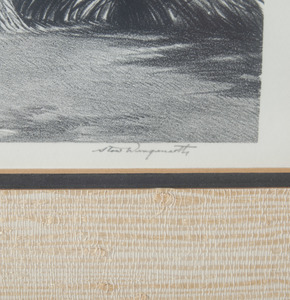 Two Stow Wengenroth Lithographs