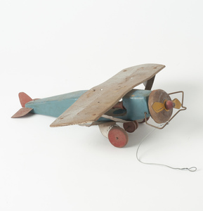 Large Tin Plate Spirit of St. Louis Toy