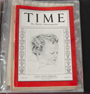 An Album of Lindbergh Sheet Music and Magazines