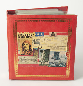 Album of Lindbergh Airmail Covers, Stamps and Letters