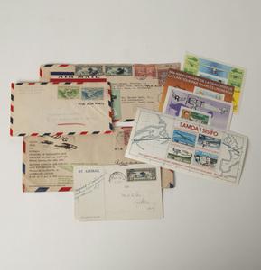 Box of Lindbergh Philately