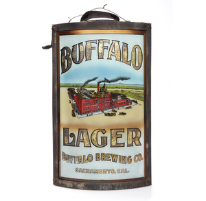 Buffalo Brewing Corner Sign