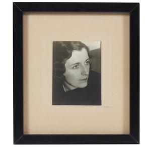 Consuelo Kanaga (1894-1978) Self Portrait