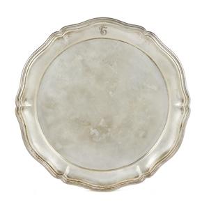 German .800 Silver Tray by Gebruder Kuhn, 22 ozt