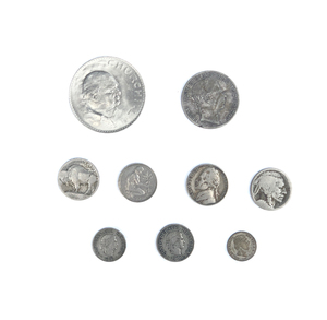 Assorted 18 American and Foreign Coins