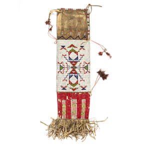 Plains Indian Beaded Tobacco Bag