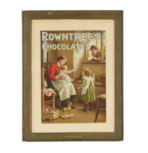 Rowntree's Chocolates Advertisement Print