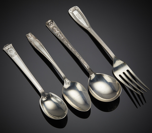 Assorted Sterling Flatware, mainly Tiffany