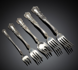 Gorham Sterling Flatware, Buttercup Pattern, 21.4 ozt.