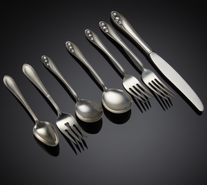 Gorham Sterling Flatware, Edgeworth & Lily of the Valley Patterns