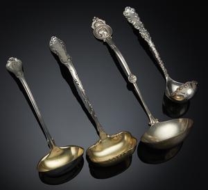 Four Silver Ladles