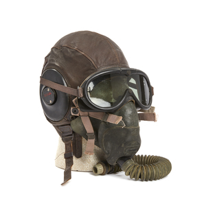 U.S. Army Air Force Leather Flight Helmet