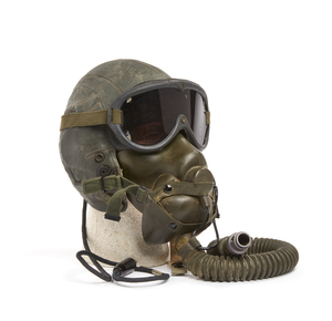 U.S. Air Force Leather Flight Helmet