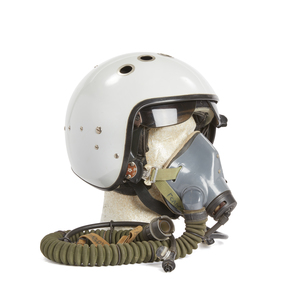 Russian ZSH Flight Helmet and Oxygen Mask