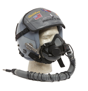 NATO Fighter Pilot Flight Helmet