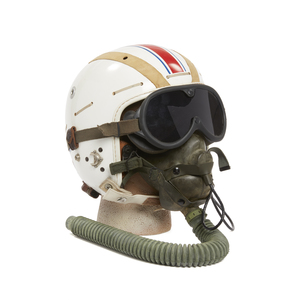 U.S. Navy Flight Helmet with Goggles and Mask