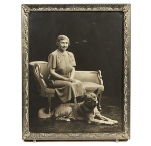 Helen Keller Signed Photograph