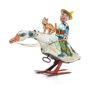 Marx Clock Work Mother Goose