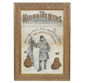 Front Page of The Klondike News