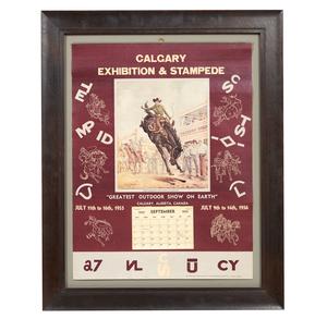 1955 Calgary Stampede Calendar