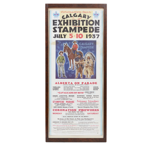 1937 Calgary Stampede Poster