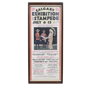 1935 Calgary Stampede Poster