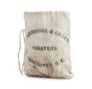 G. S. Eldridge and Co. Assayers Bag