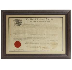 1877 President Grant Land Grant