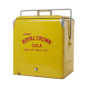 Royal Crown Cola Ice Chest