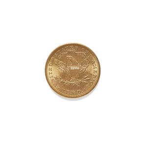 1895 Liberty Half Eagle $5 Gold Coin