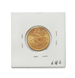 1893  Liberty Half Eagle $5 Gold Coin