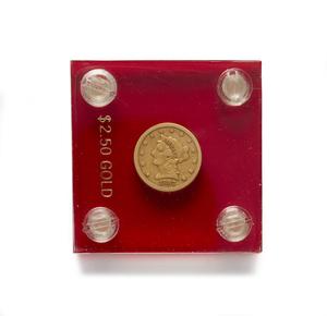 1857 $2.50 U.S. Liberty Head
