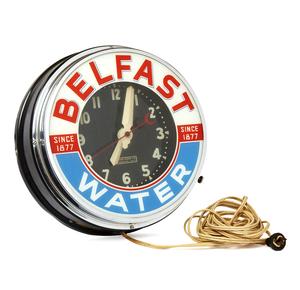 Belfast Water Light-Up Clock