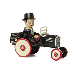 Marx Charlie McCarthy Tin Wind Up Toy