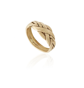 18k Yellow Gold Ring, 6.1 gm