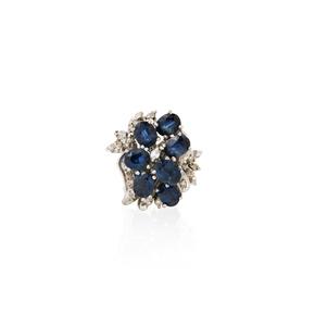 18k Sapphire Ring