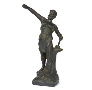 Spelter Souvenir From Louisiana Purchase