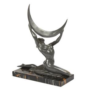 Art Deco Bronze Nude