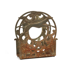 Art Deco Magazine Rack